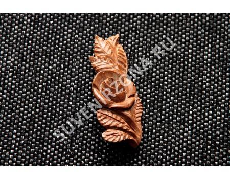 Купить брошь «Каменный цветок»