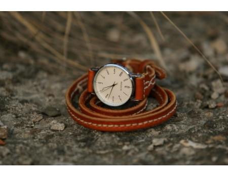 авторские часы спираль времени