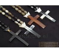 Четки из рога быка «Крест»