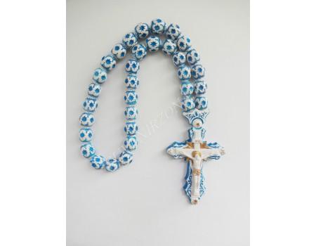 """Купить крест в авто """"Крест большой синий"""""""