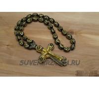 Четки в автомобиль «Крест XL» черное золото