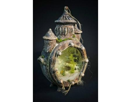 Купить аквариум ручной работы со дна синего моря