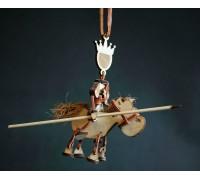 """Сувенир """"Принц на белом коне"""""""