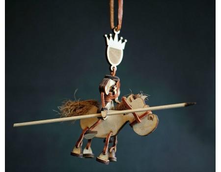 "Купить сувенир ""Принц на белом коне"""