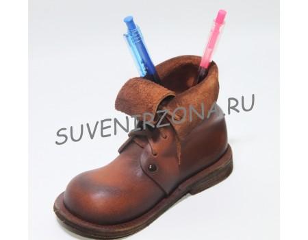 Купить подставку для карандашей и ручек «Сапожок»