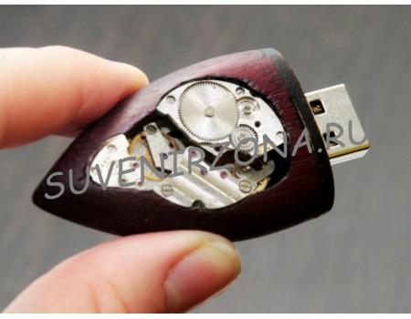 Купить USB 3.0 Флешкарту  16 Гб «Механикум Красный» Красное дерево
