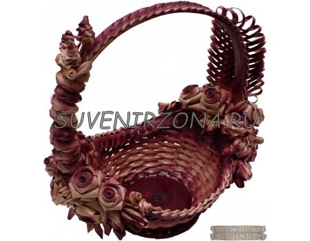 Купить плетеную корзину ручной работы «Афродита»