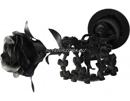 Купить фигуру из металла «Роза из будущего»
