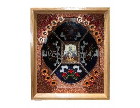Купить икону ручной работы «Неупиваемая чаша»