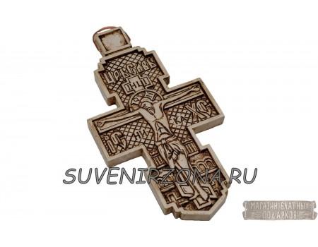 Купить крест с распятием настенный малый