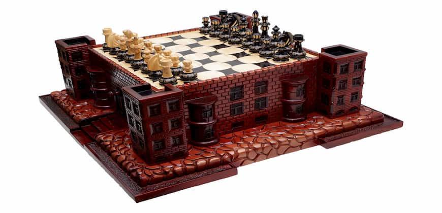 Шахматы крепость