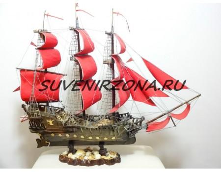 Модель корабля  «Веселый Роджер»