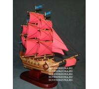 Модель сувенирного корабля №1