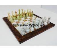 Шахматы из камня «Истуканы»