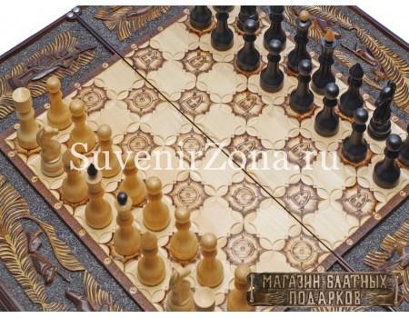 """Купить шахматы-нарды-шашки """"Классика 3"""""""