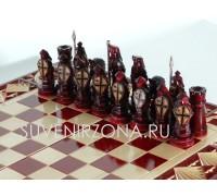 Шахматы-нарды с  фигурами
