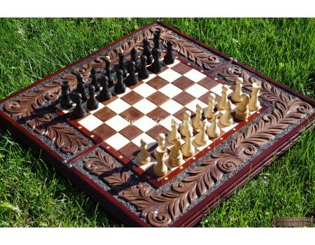 Купить шахматы нарды с фигурами