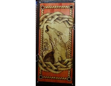 Купить нарды под книжку «Волк на заре»