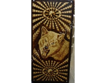 Купить нарды под книжку «Волчий оскал»