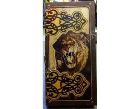 Купить нарды под книжку «Лев»