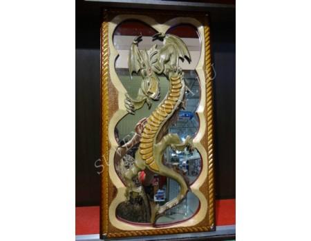 Купить нарды сквозная резка под зеркало «Императорский дракон»
