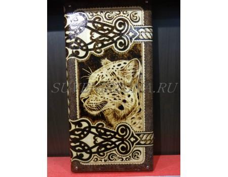 Купить нарды под книжку «Паспорт леопарда»