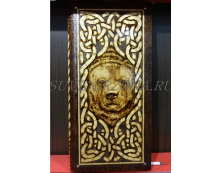 Купить нарды под книжку «Медведь»