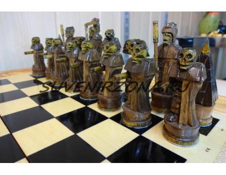 Купить шахматы-нарды  «Warcraft»