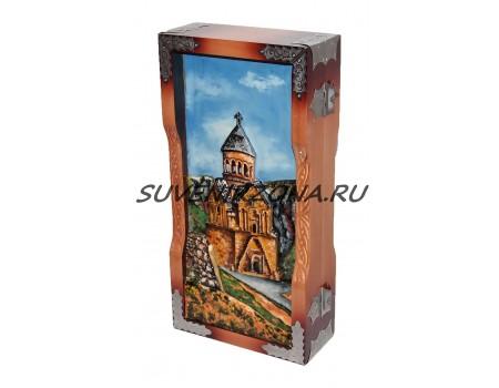 Купить нарды ручной работы 70*35 «Армения»