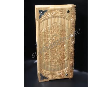Купить нарды ручной работы «Старинная книга»