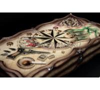 Нарды ручной работы «Объятия смерти»
