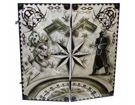 Купить нарды ручной работы «Душа нараспашку»