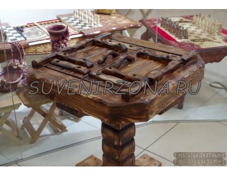 Купить игровой стол для нард «Сосновый бор»