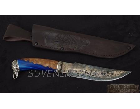 Купить кованый подарочный нож «Турист»