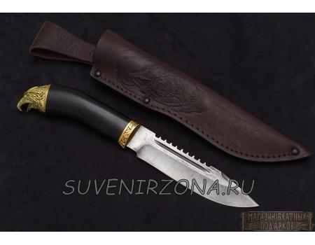 Купить кованый нож «Куница» из стали ХВ5