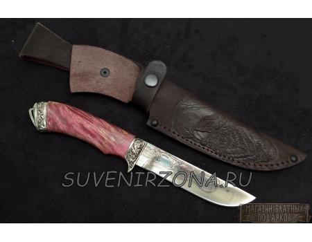 Купить кованый подарочный нож «Носорог»