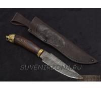 Нож из дамасской стали «Турист»