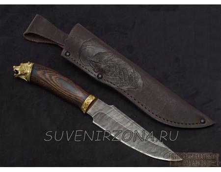 Купить нож из дамасской стали «Турист»