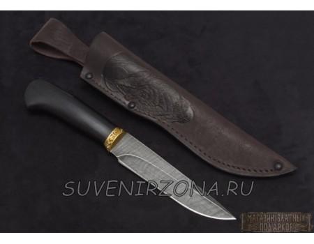Купить нож из дамасской стали «Куница»
