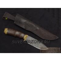 Нож «Морж» из дамасской стали