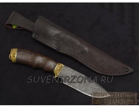 Купить подарочный нож «Морж» из дамасской стали