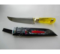"""Нож кухонный """"Желтый бриллиант"""""""