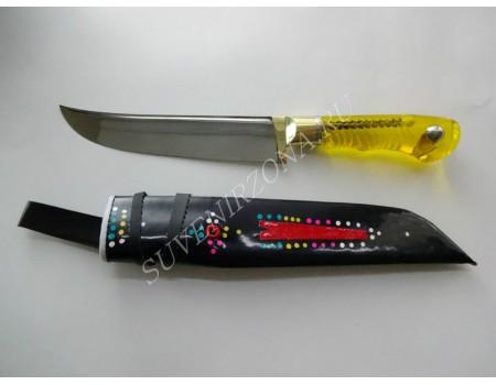 "Купить нож кухонный ""Желтый бриллиант"""