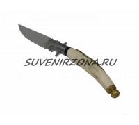Нож ручной работы «Из рога»