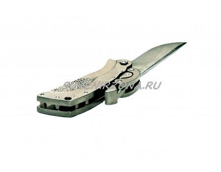 Купить нож складной ручной работы «Титановая цепь»