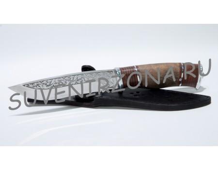 Купить нож с художественной гравировкой «Верный»