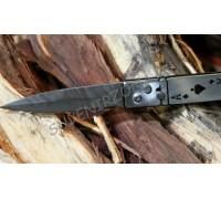 Нож ручной работы «Выкидной туз»