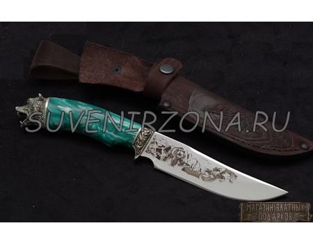 Купить нож из стали Д2 «Барс»