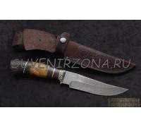 Нож из дамаска «Барс»