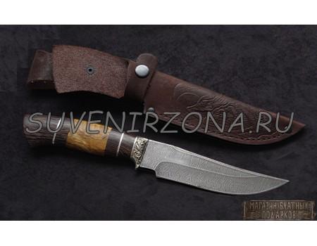 Купить нож из дамасской стали «Барс»